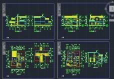 农村二层庭院别墅设计图