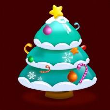 立體卡通裝飾圣誕樹