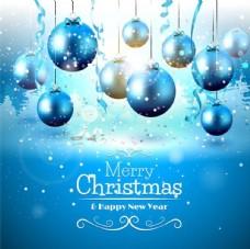蓝色圣诞节