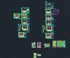 带地下室五层住宅楼给排水施工图