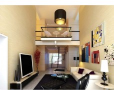 小客厅模型