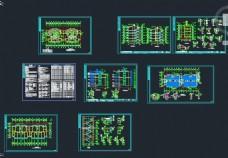 五层住宅楼施工设计图