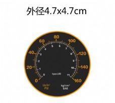 压力表面板贴纸 压力表盘设计