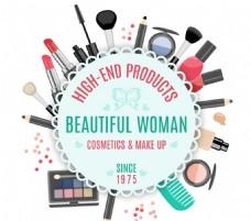 化妆品装饰标签