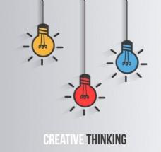 创造性思维插画