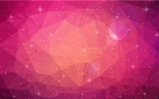 几何星空背景