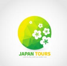 日本樱花标志