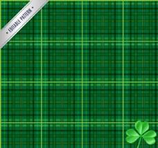 绿色格纹背景