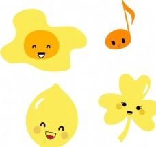 鸡蛋 柠檬 表情