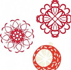 圆形 线条 花朵