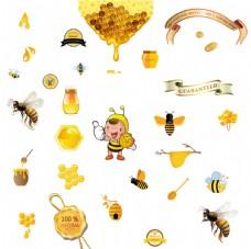 卡通蜜蜂 丝带