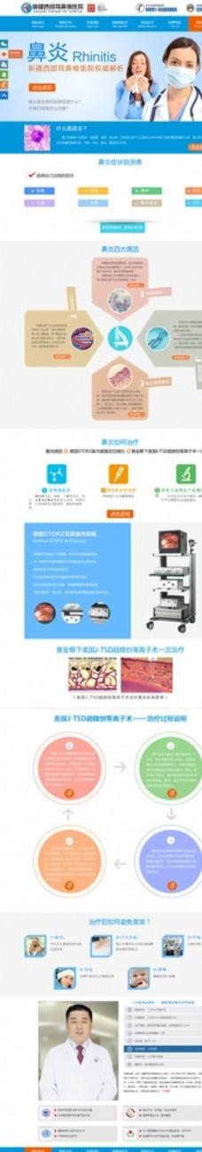 鼻炎活动网页设计专题