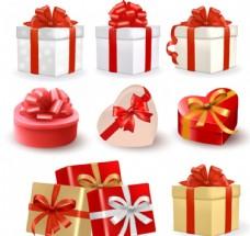 礼品盒 丝带