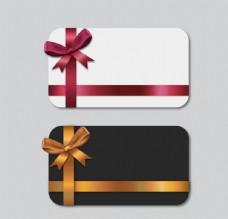 蝴蝶结装饰卡片