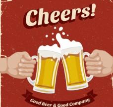 复古啤酒海报