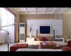 清新客厅模型