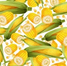 玉米无缝背景