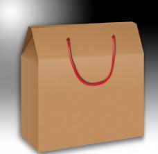 手提盒模板效果图
