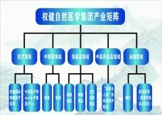權健自然醫學集團產業矩陣