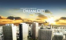 绚丽城市海报