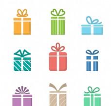 创意礼盒设计矢量素材