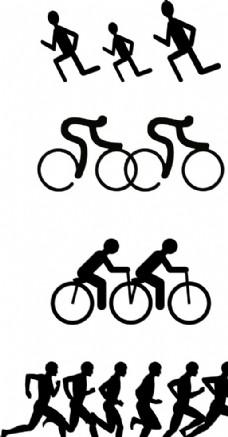 健身人物矢图图