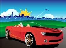 汽车与户外风光