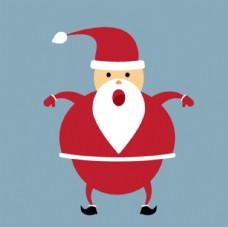 圣诞老人AI失量卡通插画