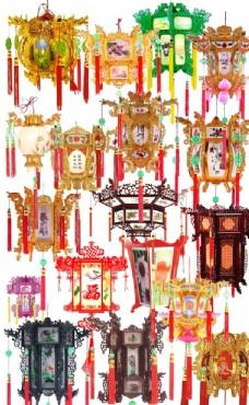 中國風復古燈籠