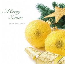 圣诞节彩球