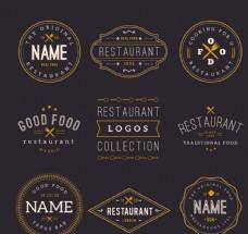 餐厅菜单标志