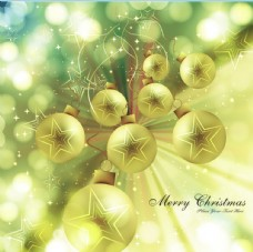 明亮的圣诞节装饰物背景