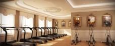 健身室室内效果图